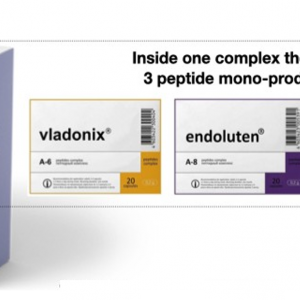 Protector 3 Plus Peptide Complex - Improves blood quality Improves sleep quality-Increases efficiency and performance-Has pronounced anti-stress and antioxidant effects 1