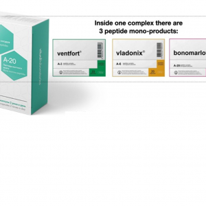 Anemo 3 Plus Peptide Complex - Replenishes energy in the body Improves blood quality,anti-stress effect, restores the function of the immune system 1