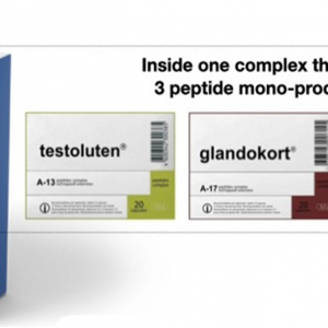 Polo 3 Plus Peptide Complex - improve the functioning of the genitourinary system, prostate and adrenal glands 1