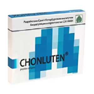 Chonluten – 60 caps for (chronic bronchitis, bronchial asthma, smoker's cough) 1