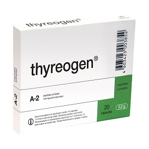 Thyreogen - 60 caps (Prevention of the thyroid diseases Hyperthyroidism Thyroid nodules Autoimmune diseases) 1